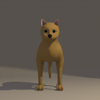 Cat 3d model work in progress