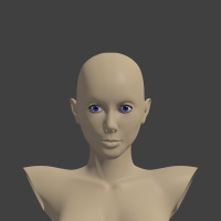 face render blenderella project