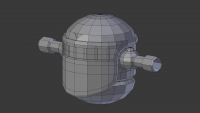 Ershin 3d modelling project with blender arms now forming